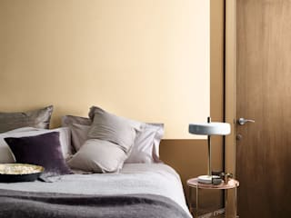 2019: A Think Space Dulux UK Moderne Schlafzimmer Bernstein/Gold