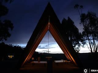 Capela Nossa Senhora de Fátima - Idanha-a-Nova - CNE - Plano Humano: Casas  por Ideawood - Casas de Madeira