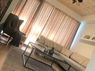 50GR Mimarlık – 5.Levent 1+1 Daire Tasarımı:  tarz Oturma Odası