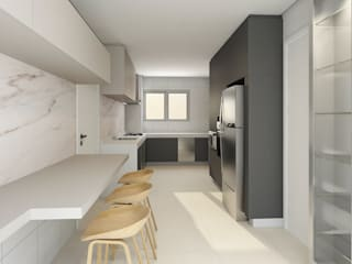 C2HA Arquitetos Kitchen units