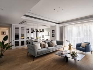 Wohnzimmer von 築川設計, Klassisch