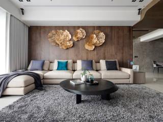 Livings modernos: Ideas, imágenes y decoración de 築川設計 Moderno