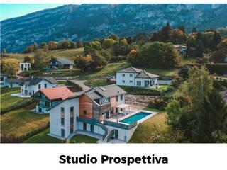 บ้านเดี่ยว by Studio Prospettiva