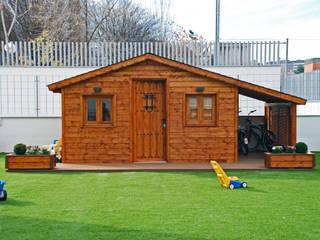 construcción de una casita de madera para niños de Construcción de casetas de Madera en Madrid Moderno