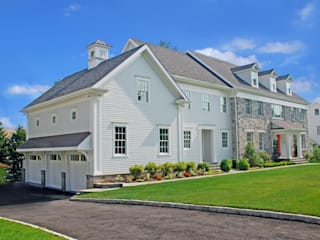 Custom Colonial Home, Scarsdale, NY Colonial style houses by DeMotte Architects, P.C. Colonial