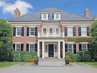 Georgian Colonial, Greenwich, CT Classic style houses by DeMotte Architects, P.C. Classic
