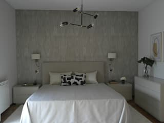 Suite : Quartos  por Ci interior decor