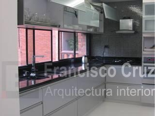 Francisco Cruz Arquitectura Interior Cocinas equipadas Aluminio/Cinc Gris