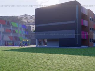 concept trường mầm non Tiền Giang bởi Archilives Hiện đại