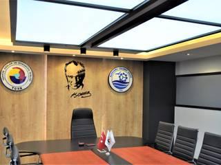 Bandırma Ticaret Odası Meclis Toplantı Salonu STÜDYO YEKA Mimarlık ve İç Mimarlık Modern