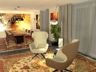 Modern living room by Planet G Modern