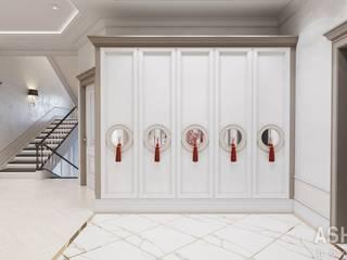 Pasillos, vestíbulos y escaleras de estilo ecléctico de Студия авторского дизайна ASHE Home Ecléctico