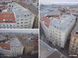 Wohn- und Bürogebäude Tuchlauben Architekt DI Bernd Brandner Dach