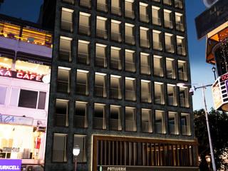 Bandırma Ticaret Odası Ticari Ofis Binası STÜDYO YEKA Mimarlık ve İç Mimarlık Modern