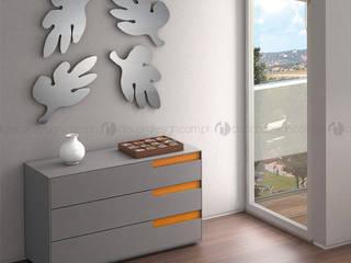 Decordesign Interiores RecámarasTocadores Derivados de madera Naranja
