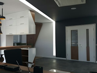 Olifant İçmimarlık ve Tasarım Stüdyosu – Kotanlar İnşaat Satış Ofisi:  tarz Ofis Alanları