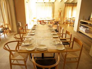 Restaurante Pópuli Bistró Gastronomía de estilo ecléctico de juanjosémartíarquitectos Ecléctico