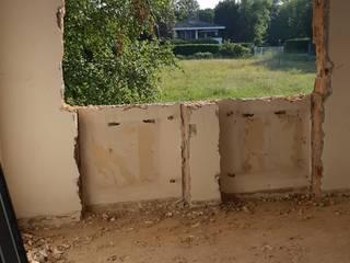 Ristrutturazione casa unifamiliare: Finestre in stile  di ALFONSI ARCHITETTURA,