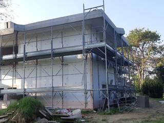 Ristrutturazione casa unifamiliare: Case in stile  di ALFONSI ARCHITETTURA,