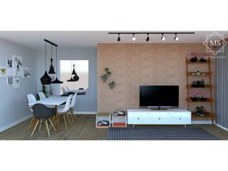 MS Interiores Ruang Keluarga Modern