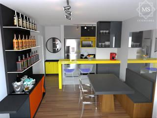 MS Interiores Ruang Makan Modern