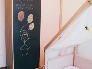Atölye Teta – Bilge Deniz Bebeğin Odası:  tarz Bebek odası