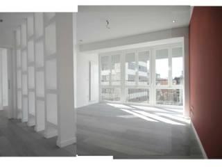 Reforma (remodelación) departamento.: Recámaras pequeñas de estilo  por Árbol Arquitectura,