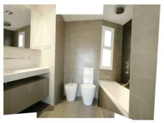 Reforma (remodelación) departamento.: Baños de estilo  por Árbol Arquitectura,