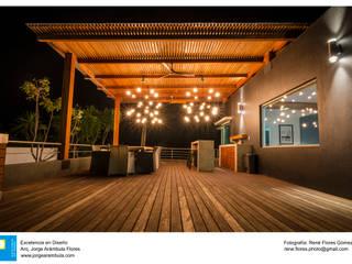 Balcón de estilo  por René Flores Photography