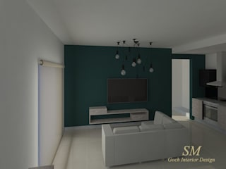 Salas de estar modernas por Goch Interior Design Moderno