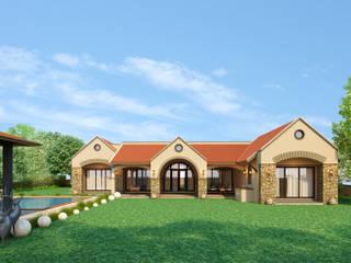 Farmhouses by Hardik Soni Architects Mediterranean