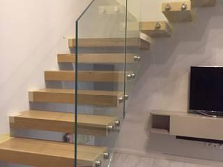 Консольные лестницы от UPSTAIRS Минимализм