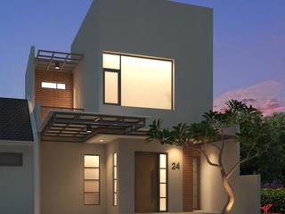 D&A House Cimanggis Oleh Dwello Design Modern