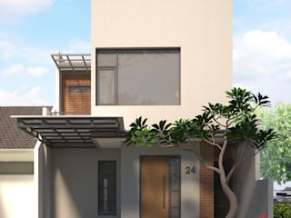 D&A House Cimanggis Rumah Modern Oleh Dwello Design Modern