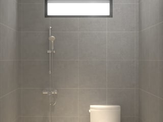 Dwello Design 浴室 陶器 Grey