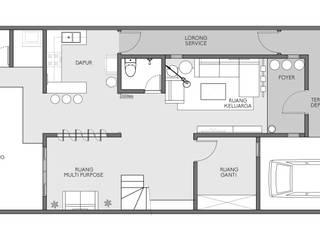 D&A House Cimanggis Oleh Dwello Design Industrial