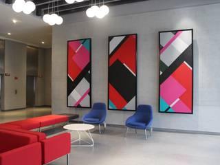 Obra de Arte para Torre Vao de Mayra Gutierrez Art Studio Moderno