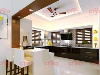 Interior Designers In Kochi Modern Kitchen by CreoHomes Pvt Ltd Modern