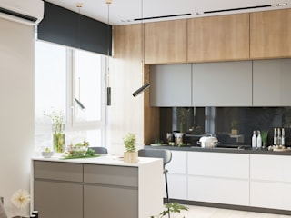 Built-in kitchens by Студия авторского дизайна ASHE Home