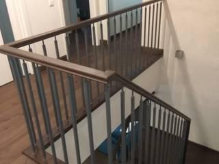 Облицовка бетонной лестницы от АКБдизайн Классический