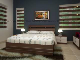BEDROOM INTERIOR DESIGN DLIFE Home Interiors BedroomBeds & headboards Wood effect