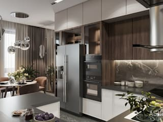 Kitchen by Студия авторского дизайна ASHE Home, Eclectic