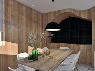 3D/jantar: Salas de jantar  por ORMIGON ARCHI
