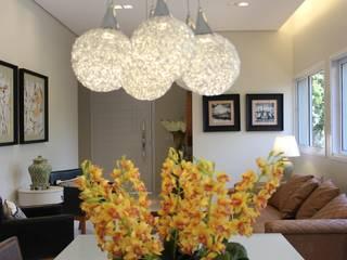 Salas integradas Salas de jantar modernas por Arquiteta Bianca Monteiro Moderno