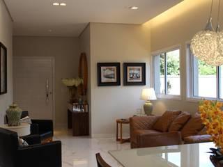 Salas integradas Salas de estar modernas por Arquiteta Bianca Monteiro Moderno