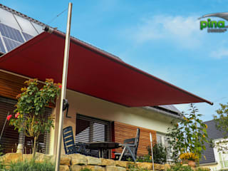 Pina GmbH - Sonnensegel Design ระเบียง, นอกชาน Red