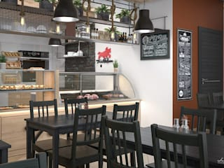Gastronomy by Santoro Design Render, Industrial