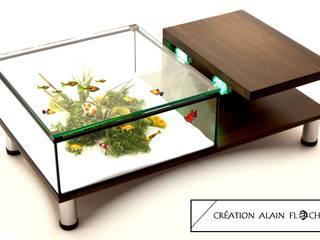 Table aquarium ANNABELIA:  de style  par VPA DESIGN