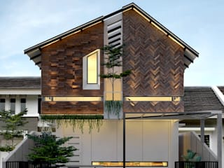 TSforTC House : Rumah tinggal  oleh Abil Architect , Tropis