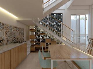 TSforTC House : Dapur built in oleh Abil Architect , Tropis